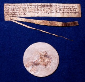 Charter of King William 1 (London Metropolitan Archives)