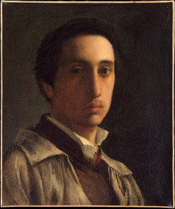 Edgar Degas, Self-portrait (1855-56)