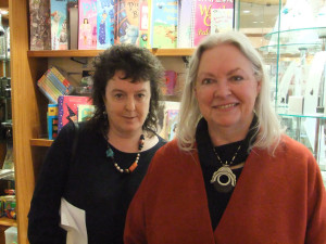 Carol Ann Duffy and Gillian Clarke, National Library of Wales