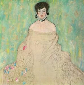 Gustav Klimt, Portrait of Amalie Zuckerkandl (1917-1918)