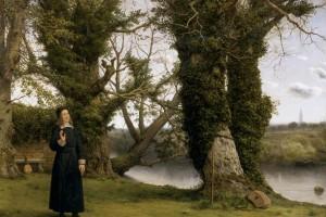 Celf a chrefydd: George Herbert a'r anffyddiwr