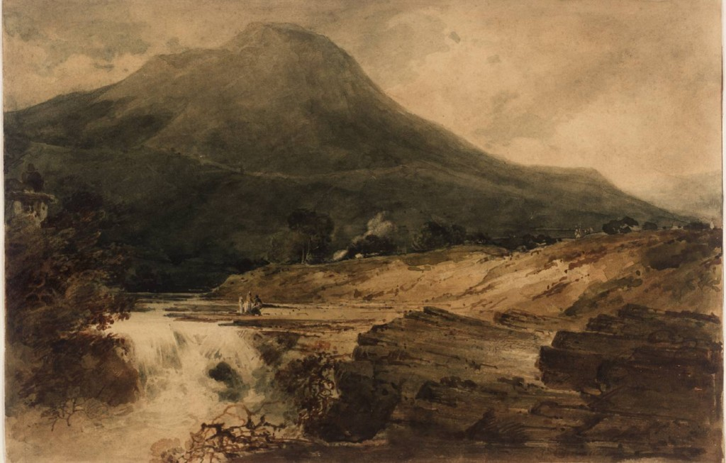 Llangollen 1801 by John Sell Cotman 1782-1842