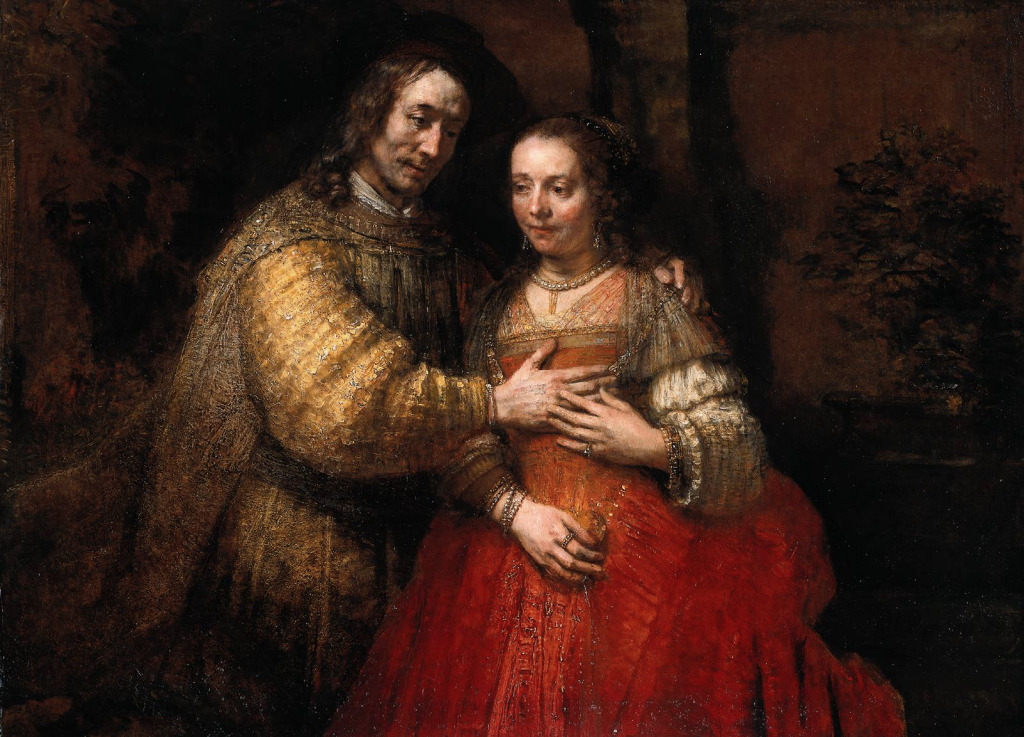 Rembrandt, The Jewish bride