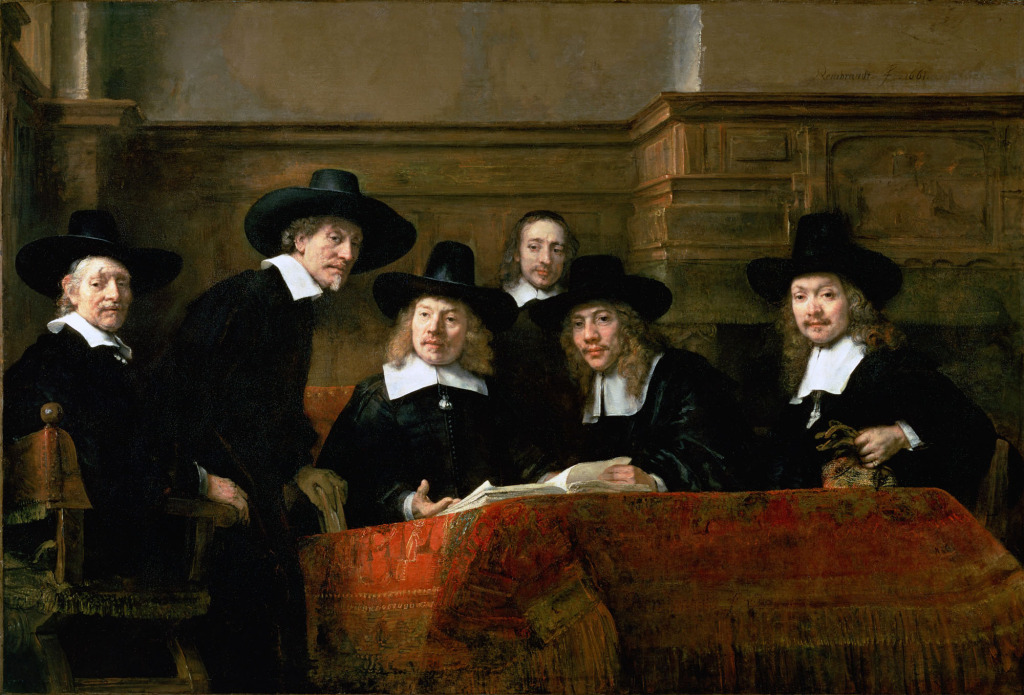 Rembrandt, The Syndics