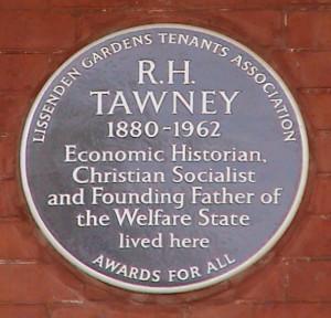 Tawney plaque