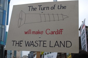 Books and their readers defend Cardiff libraries