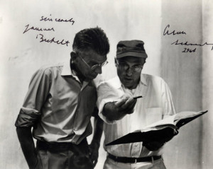 Alan Schneider and Samuel Beckett
