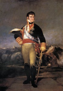 Goya, Portrait of Ferdinand VII (Prado, Madrid)