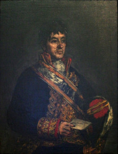 Goya, Portrait of Don Miguel De Lardizábal (1815)
