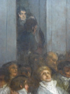 Goya, The Philippines Assembly, detail: Miguel de Lardizabal