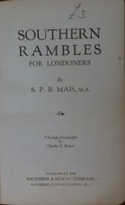 Southern rambles tp