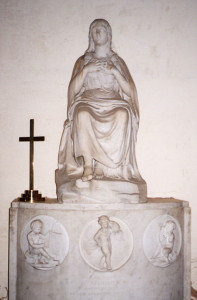 Richard Westmacott, Memorial to Sophia Musters (Annesley Church)