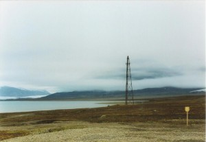 Airship mast at Ny-Ålesund in 2005