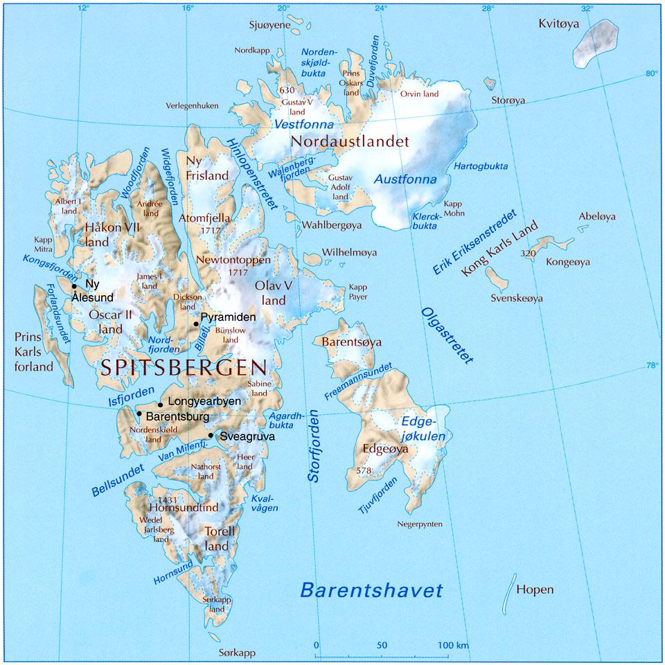 kart svalbard norge Two Svalbard flights : gwallter kart svalbard norge