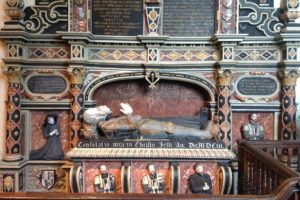 A Coxwold tomb