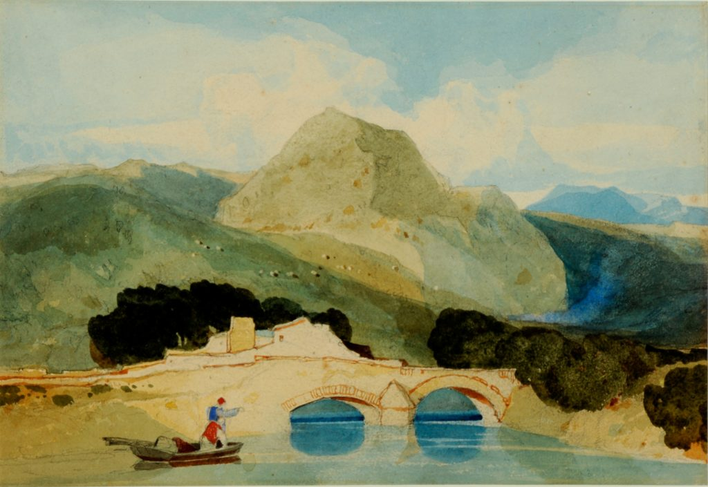 John Sell Cotman, Tan-y-Bwlch (Leeds)