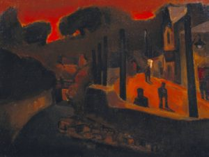 Evening, Ystradgynlais 1948 Josef Herman 1911-2000 Presented by the Roland Collection 1992 http://www.tate.org.uk/art/work/T06523
