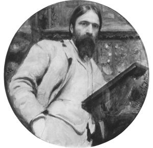 Self-portrait by Hubert Herkomer