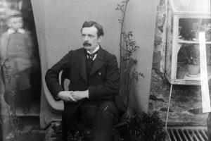 Lloyd George a'r bachgen yn y llun